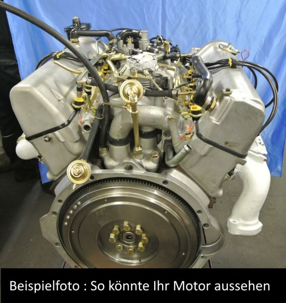 Motor, Motorreparatur 420 SL / 420 SE / 420 SEL / 420 SEC - M116