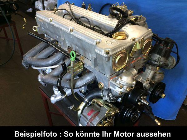 Mercedes Motorüberholung 280 SE SL SLC W107 W116 W123 M110 Doppelnocker