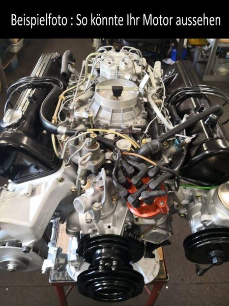 Motorüberholung für 560 SE / 560 SEL / 560 SEC / 560 SL M117, W126, W107, R107