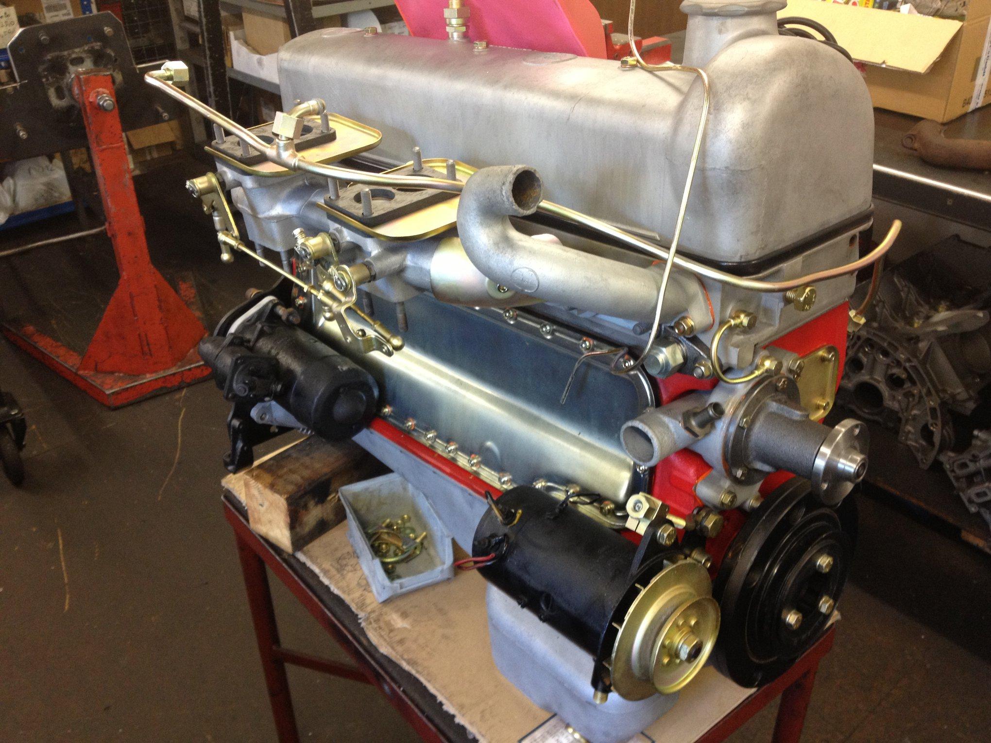 Motorüberholung 220S Ponton M180