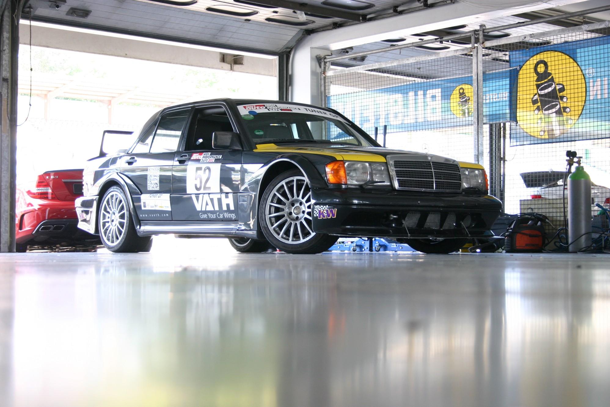 Mercedes 190 E EVO II - Der junge Oldtimer