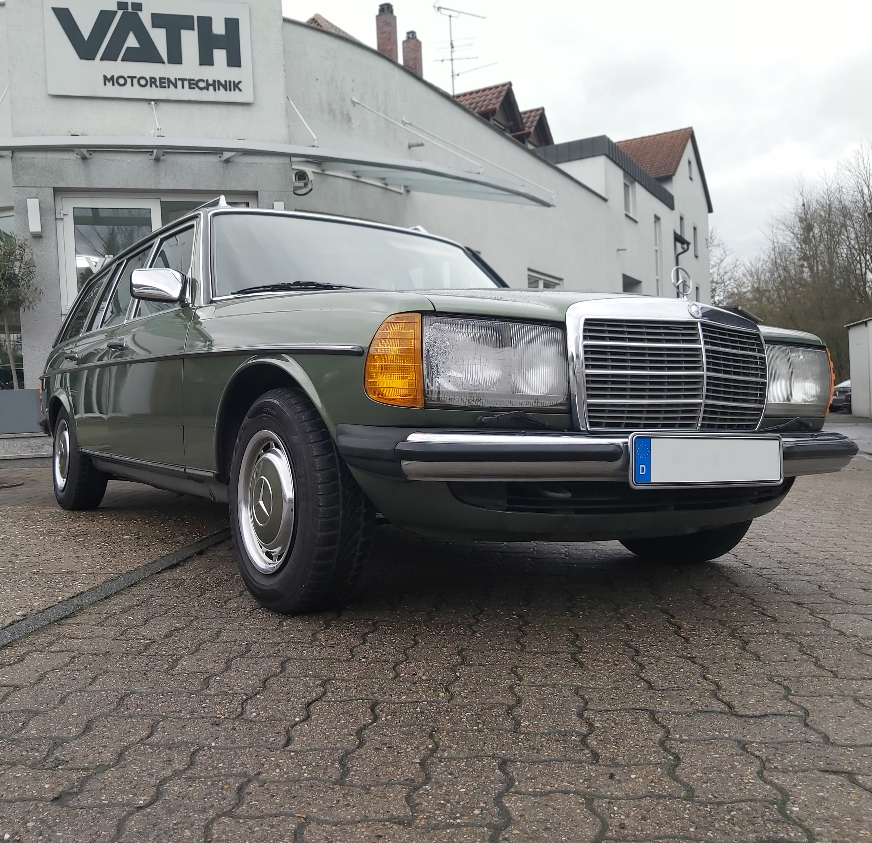 Motorüberholung mit Motortuning: Mercedes-Benz 280TE W123