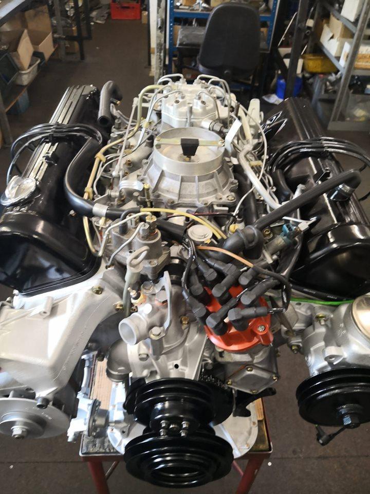 Motorüberholung 500 und 560er M117