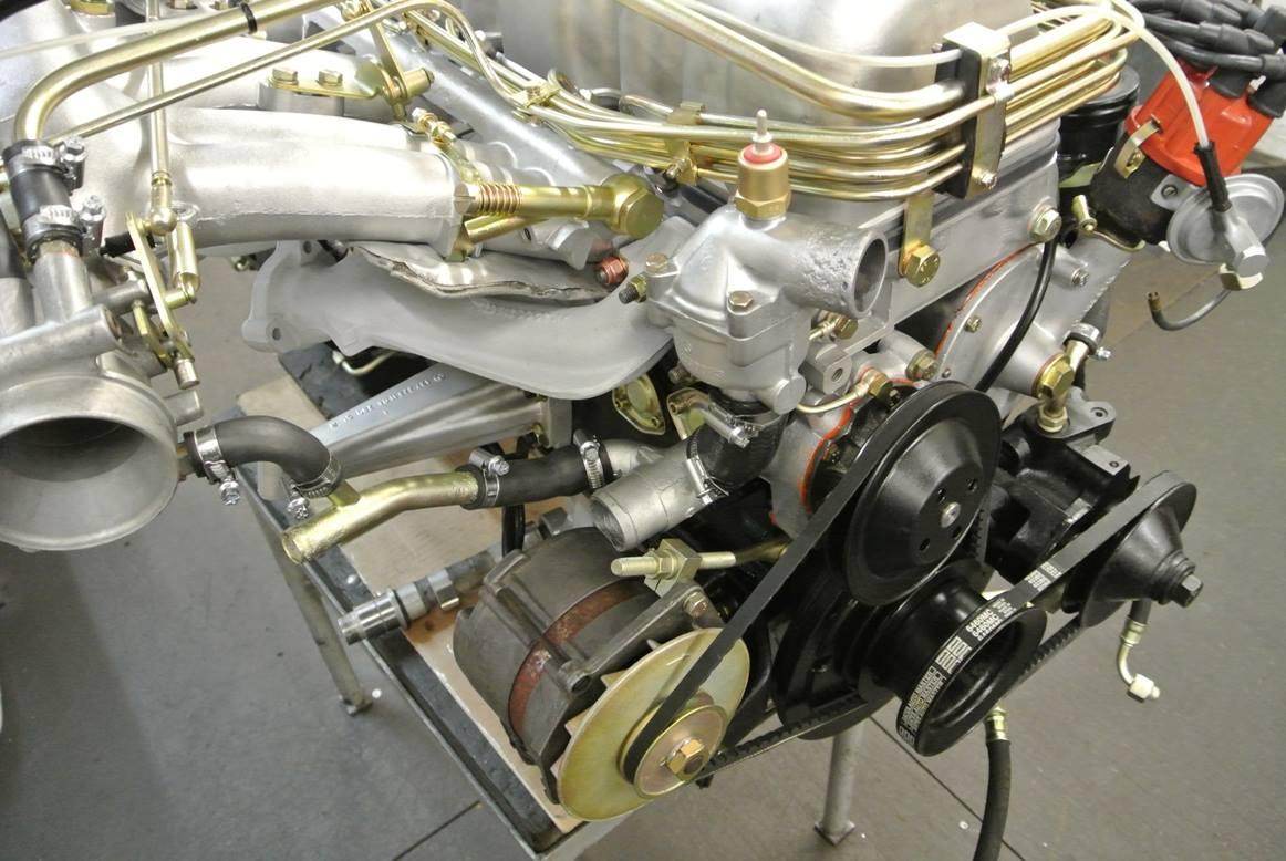 Motorüberholung Pagode W113 und W111