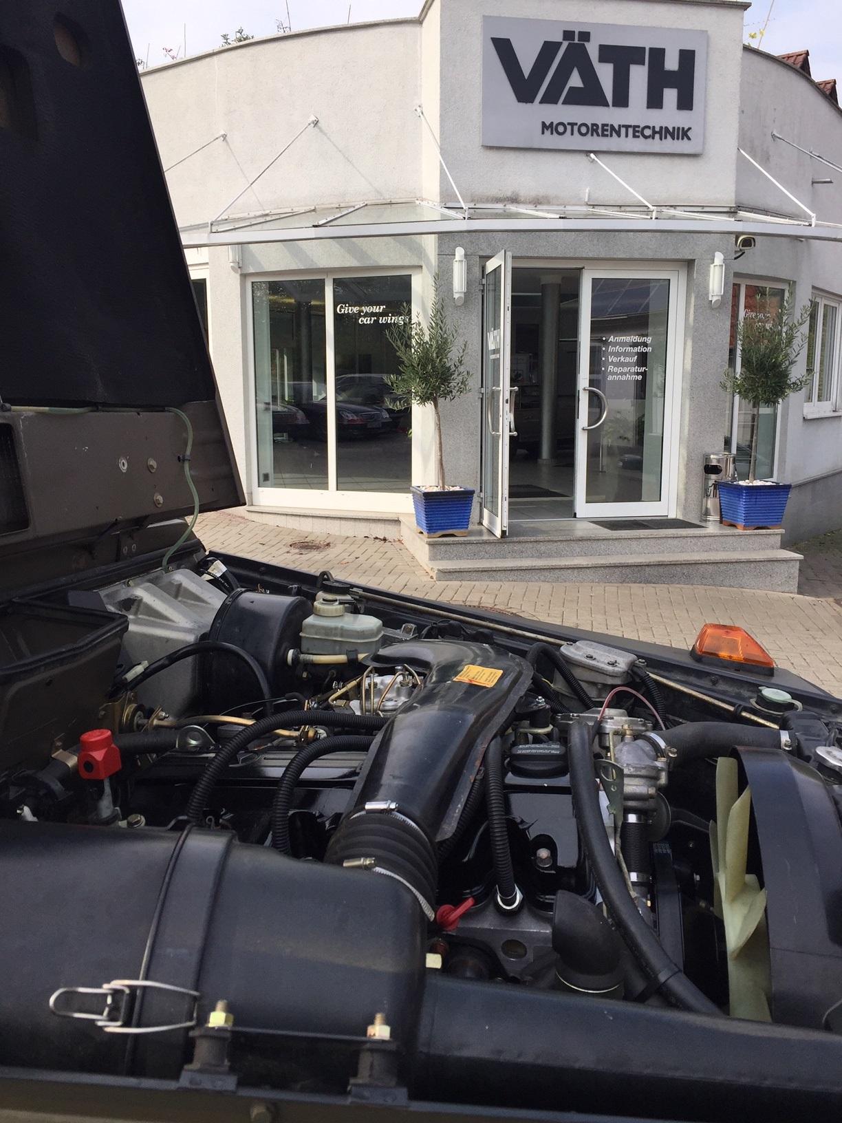Mercedes / Puch 230GE Motorumbau auf 2,5 Liter Hubraum