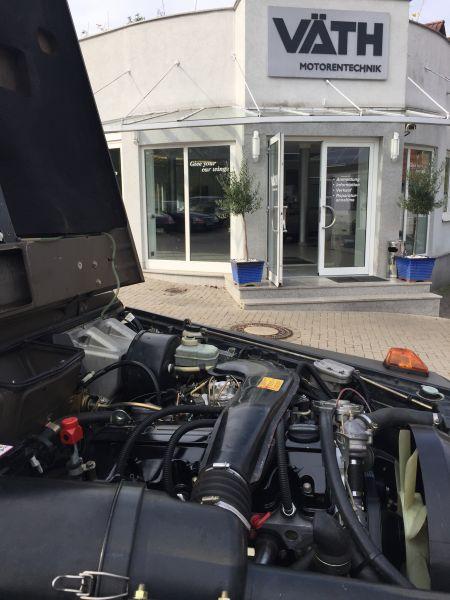 Motor, Motorreparatur 230 GE, mit gleichzeitigem Umbau auf 2,5 Ltr